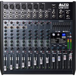 Alto live 1202 mixing desk hire