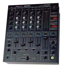 Pioneer DJM 500 DJ mixer for hire