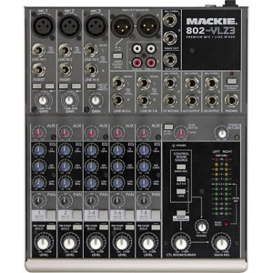 Mackie 802 mixing desk for hire