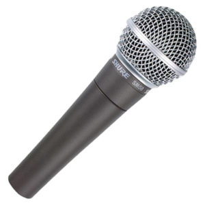 Shure SM58 vocal microphone for hire