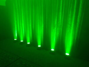 Green Uplighters
